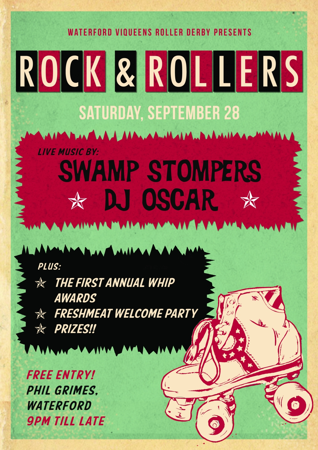 Rock & Rollers Poster