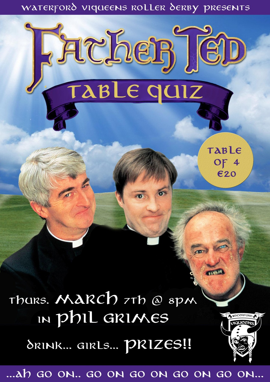 Father Ted Table Quiz